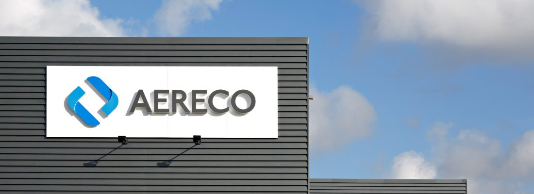 Aereco History page about us banner